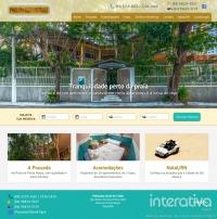 Conheça o novo site da Pousada Olho de Tigre